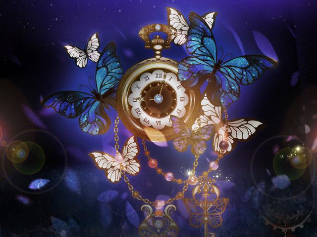 時計と蝶と鍵